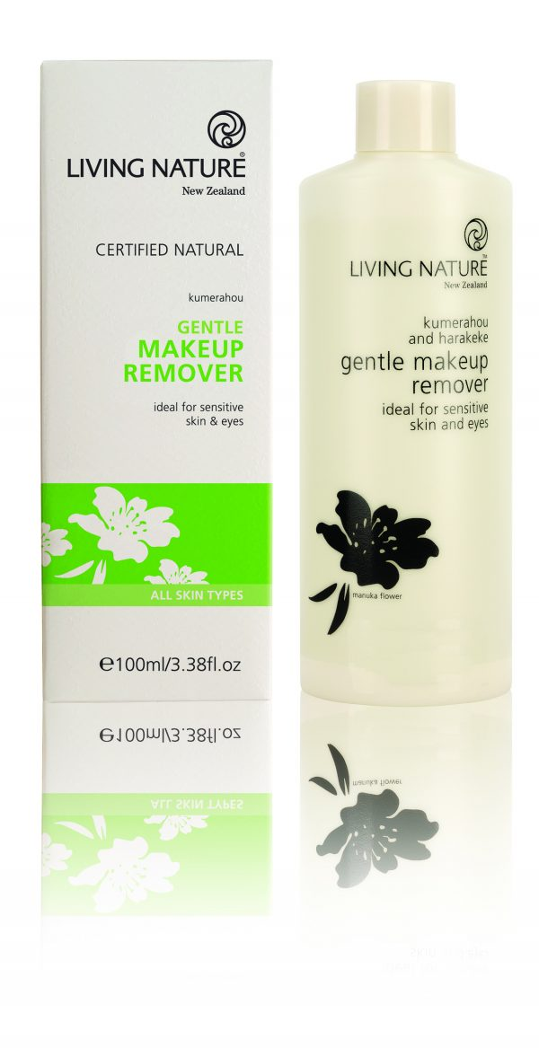 Living Nature gentle make up remover
